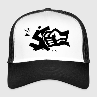 against Nazis - Trucker Cap
