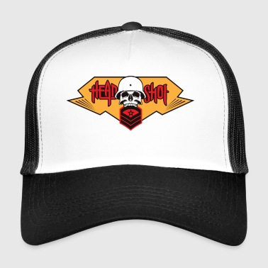 headshot - Trucker Cap