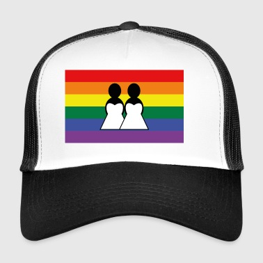 homosexuality, bachelorette party - Trucker Cap