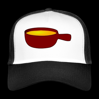 soup stew soup bowl noodle cooking food9 - Trucker Cap