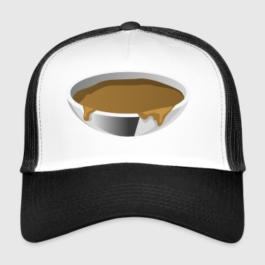 soup stew soup bowl noodle cooking food17 - Trucker Cap