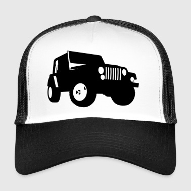 Jeep - SUV - Trucker Cap