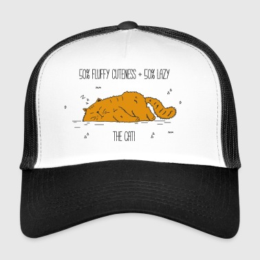 cat fluffy cuteness - Trucker Cap