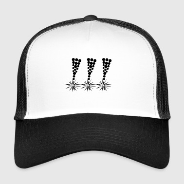 Cool: Black exclamation mark! Important! Important! - Trucker Cap