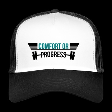 gymnase de confort ou de remise en forme Progress - Trucker Cap