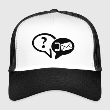 communication - Trucker Cap