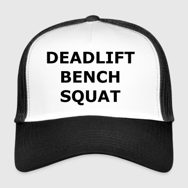 Fitness Deadlift Penkki Squat - Trucker Cap