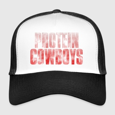 Fitness Protein Cowboys Red - Trucker Cap