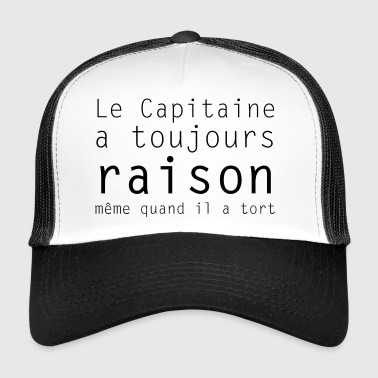 le capitaine - Trucker Cap
