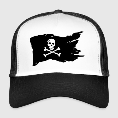 Jolly Roger (el color adaptable!) - Gorra de camionero