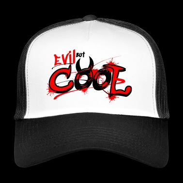 Krampus Perchten diable diabolique, énonciation drôle - Trucker Cap