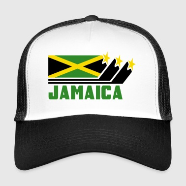 Jamajka / Prezent / Karaiby / Reggae / Kingston - Trucker Cap