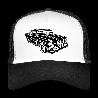 Chevy Cadilac / Muscle Car 02_black - Trucker Cap