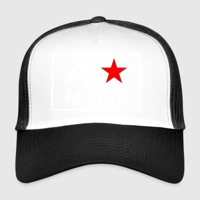 A star is born - weiß - Trucker Cap