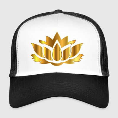 YOGA MÉDITATION BOUDDHA LOTUS FLOWER T-SHIRT - Trucker Cap