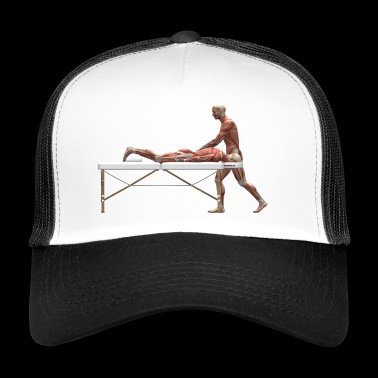 first aid massage first aid therapy therapy7 - Trucker Cap