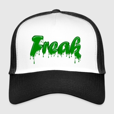 Green Gloop Freak - Trucker Cap