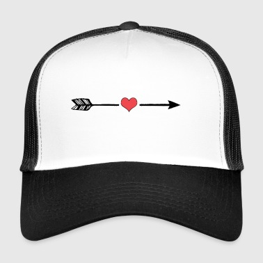 Heart arrow - Trucker Cap
