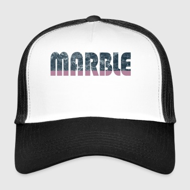 Marble Fashion Trend Fashion Word Look Gift Idea - Trucker Cap