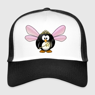 Penguin fairy with wings gift idea - Trucker Cap
