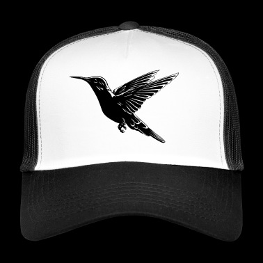 Hummingbird bird - Trucker Cap