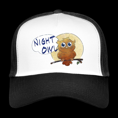Night Owl - Trucker Cap