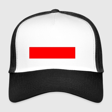 Red bar - Trucker Cap
