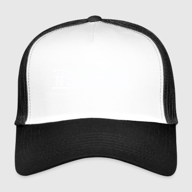 #SINGLE - biały - Trucker Cap