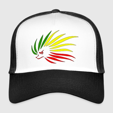 Rasta Hedgehog - Trucker Cap