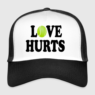 Love Hurts (Tennis) - Trucker Cap