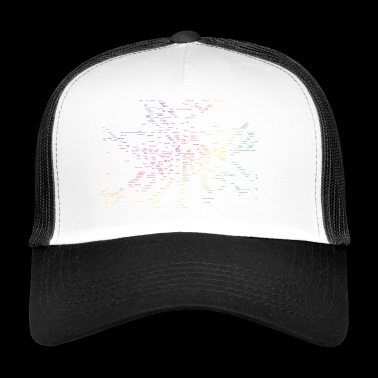Berlin map subway stations - Trucker Cap