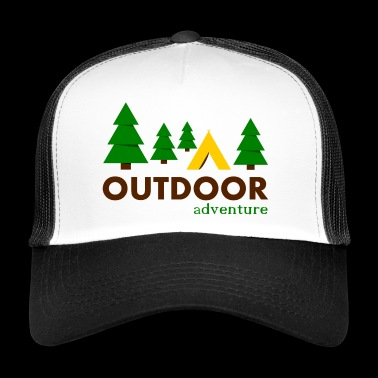 Outdoor Adventure Camp - Trucker Cap