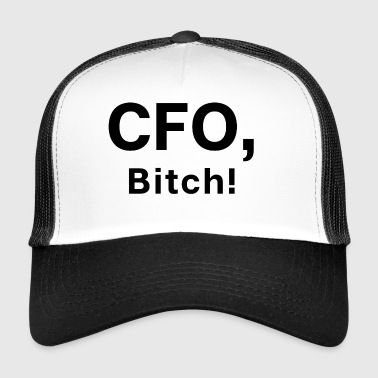 Talousjohtaja Bitch - Chef Boss Startup - Trucker Cap