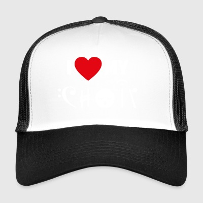 Choir love singing musician hobby gift - Trucker Cap
