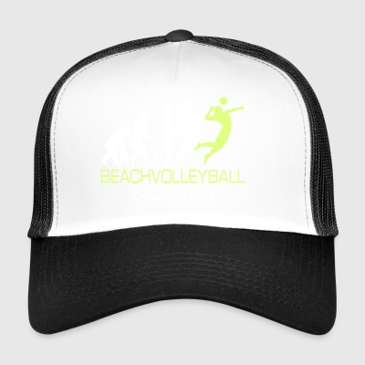 Evolution - Beach-volley cadeau T-shirt - Trucker Cap