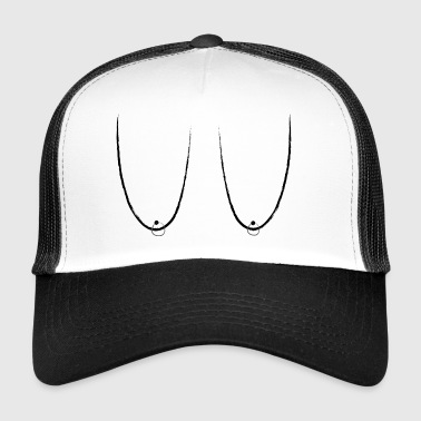 Hanging Titties / seins avec piercing Hype Ghetto - Trucker Cap