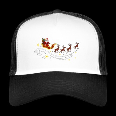 Santa Claus with reindeer - Trucker Cap