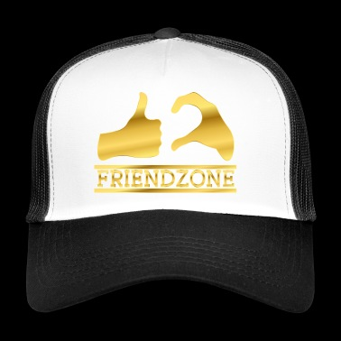 Estimado Friendzone Friendship Gold - Gorra de camionero