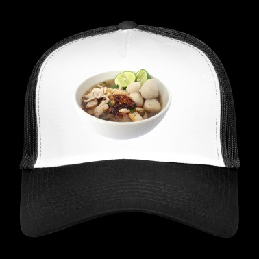 soup stew soup bowl noodle cooking food8 - Trucker Cap