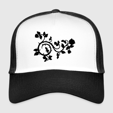 Mystic black rose - Trucker Cap