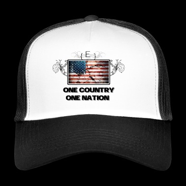 Jeden kraj - One Nation - Trucker Cap