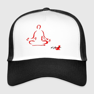 YOGA ROSSO, YOGA, MEDITATION, MEDITATION TECHNIQUE - Trucker Cap