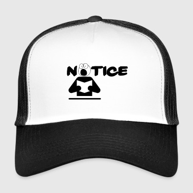 Notiz - Trucker Cap