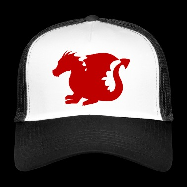 Dangerous red dragon - Trucker Cap