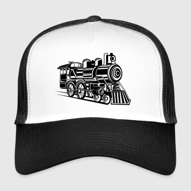 Lokomotive / Locomotive 01_weiß - Trucker Cap