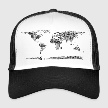 map - Trucker Cap