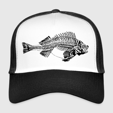 agressieve bass - Trucker Cap