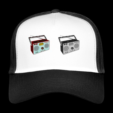 radio - Trucker Cap
