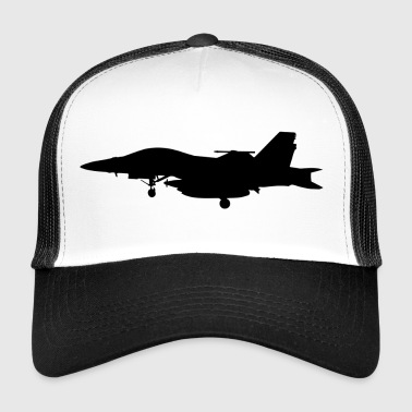 Jet fighter jet idée cadeau d'avion - Trucker Cap