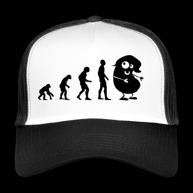 Evolution - bønne - Trucker Cap